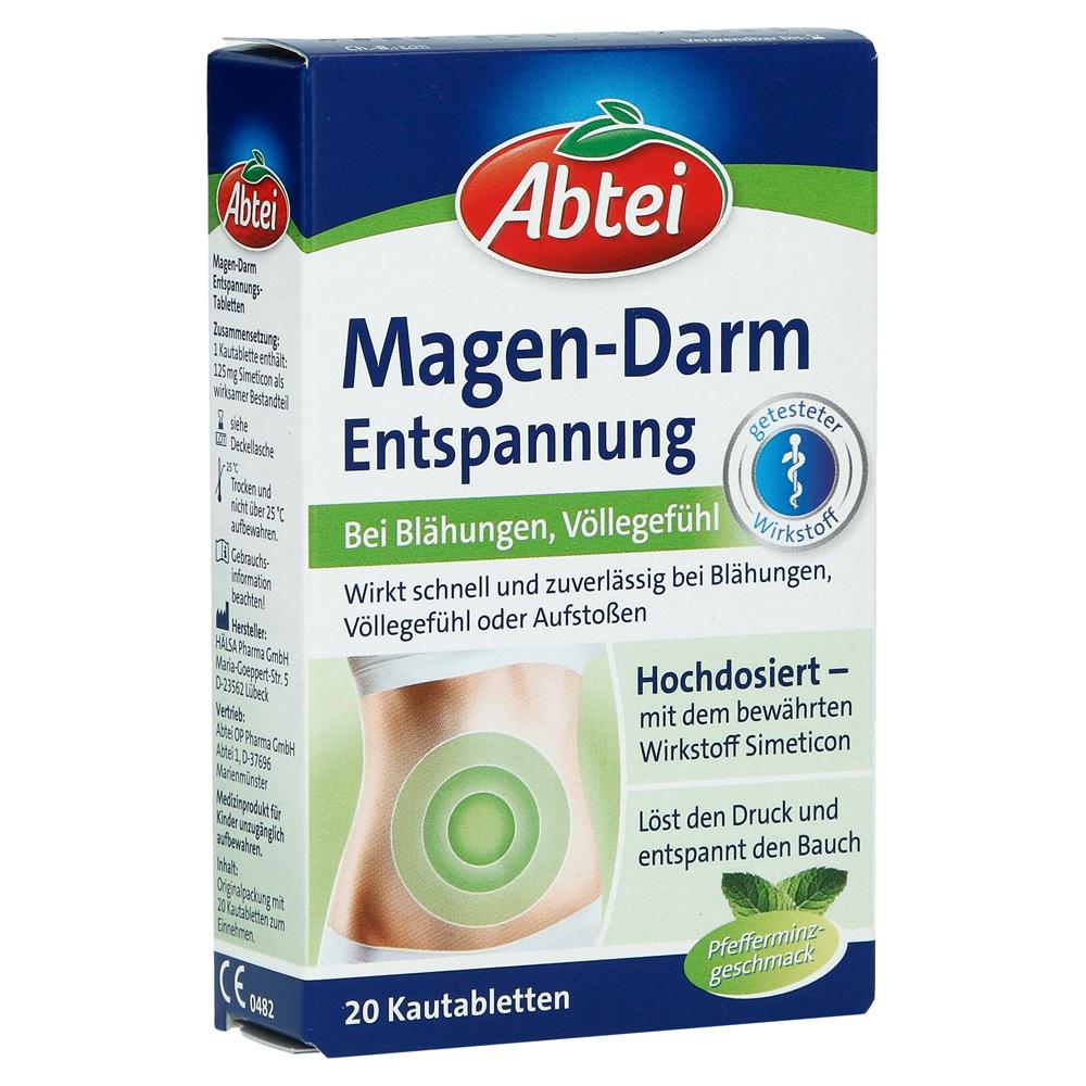 Erfahrungen Zu Abtei Magen Darm Entspannung 20 Stück Medpex