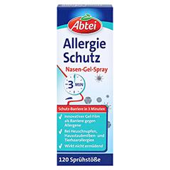 ABTEI Allergie Schutz Nasen-Gel-Spray 20 Milliliter - Vorderseite
