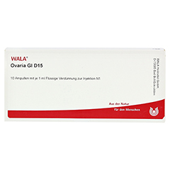 OVARIA GL D 15 Ampullen 10x1 Milliliter N1 - Vorderseite