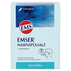 EMSER Nasenspülsalz physiologisch Btl. 100 Stück - Vorderseite
