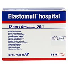 ELASTOMULL hospital 12 cmx4 m elast.Fixierb.weiß 20 Stück - Vorderseite