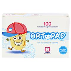ORTOPAD for boys regular Augenokklusionspflaster 100 Stück - Vorderseite