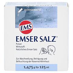 Emser Salz im Beutel 1,475g 20 Stück N1 - Vorderseite