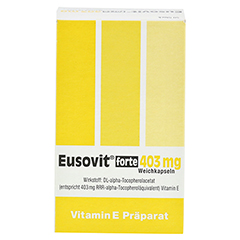 EUSOVIT forte 403 mg Weichkapseln 50 Stück N2 - Vorderseite