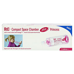 RC Space Chamber Compact Princess m.Mundst.ab 5 J. 1 Stück - Vorderseite
