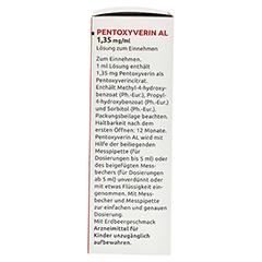 PENTOXYVERIN AL 1,35 mg/ml Lösung zum Einnehmen 100 Milliliter N1 - Linke Seite