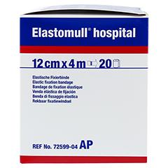 ELASTOMULL hospital 12 cmx4 m elast.Fixierb.weiß 20 Stück - Linke Seite