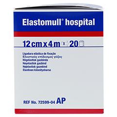 ELASTOMULL hospital 12 cmx4 m elast.Fixierb.weiß 20 Stück - Rechte Seite