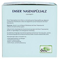 Emser Nasenspülsalz physiologisch 100 Stück - Rechte Seite