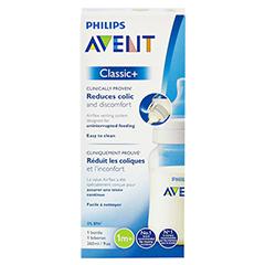 AVENT Klassik+ Flasche 260 ml 1er Pack 1 Stück - Rückseite