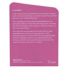 LAVENDEL ÖL Bio mit Geschenkverpackung 5 Milliliter - Rückseite
