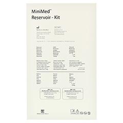 MINIMED 640G Reservoir-Kit 3 ml AA-Batterien 2x10 Stück - Rückseite