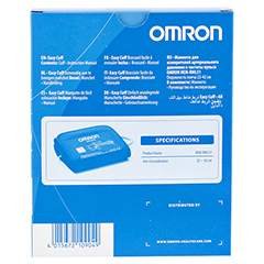OMRON Manschette Universal f.HEM-RML31-E 22-42cm 1 Stück - Rückseite