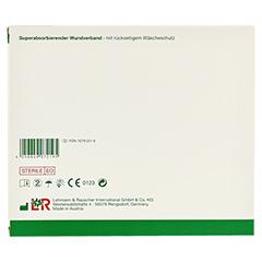 VLIWASORB Pro suberabsorb.Komp.steril 10x10 cm 10 Stück - Rückseite