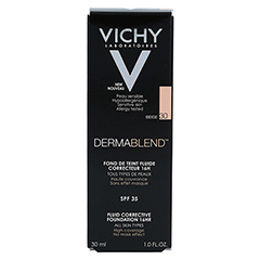 Vichy Dermablend Make-up Fluid Nr. 30 Beige 30 Milliliter - Rückseite
