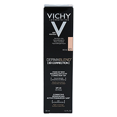VICHY DERMABLEND 3D Make-up 30 30 Milliliter - Rückseite