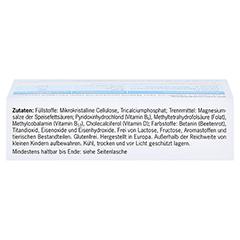 VITANEURAX B-Vitamine+D3 Filmtabletten 30 Stück - Oberseite