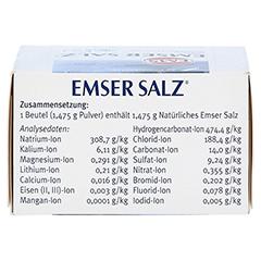 Emser Salz im Beutel 1,475g 20 Stück N1 - Oberseite