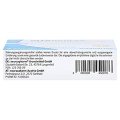 VITANEURAX B-Vitamine+D3 Filmtabletten 30 Stück - Unterseite
