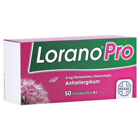 LoranoPro 5mg 50 Stück N2