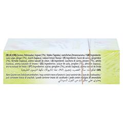 Ibons Zitrone Ingwerkaubonbons Schachtel 60 Gramm - Rechte Seite