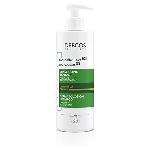 Vichy Dercos Anti-Schuppen-Pflegeshampoo für trockene Kopfhaut 390 Milliliter