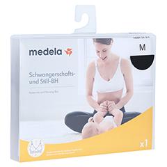 MEDELA Schwangerschafts- u.Still-BH M schwarz 1 Stück