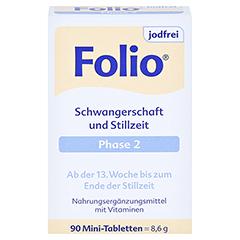 Folio 2 Jodfrei Filmtabletten 90 Stück - Vorderseite