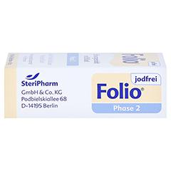 Folio 2 Jodfrei Filmtabletten 90 Stück - Rechte Seite