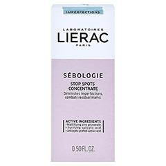 LIERAC Sébologie Anti-Pickel-Konzentrat + gratis LIERAC Sébologie Peeling-Maske 10 ml 15 Milliliter - Vorderseite
