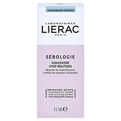 LIERAC Sébologie Anti-Pickel-Konzentrat + gratis LIERAC Sébologie Peeling-Maske 10 ml 15 Milliliter - Rückseite