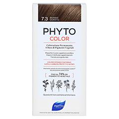 PHYTOCOLOR 7.3 GOLDBLOND Pflanzliche Haarcoloration 1 Stück - Rückseite