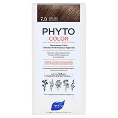 PHYTOCOLOR 7.3 GOLDBLOND Pflanzliche Haarcoloration 1 Stück - Vorderseite