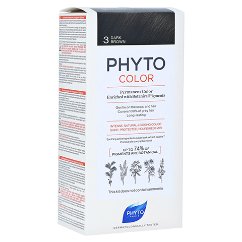 PHYTO Phytocolor Permanente Coloration 3 dunkelbraun 1 Stück