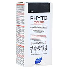 PHYTOCOLOR 1 schwarz ohne Ammoniak 1 Stück