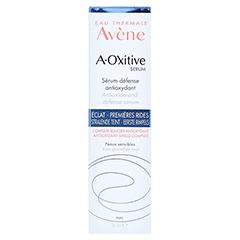 Avène A-OXitive SERUM Schützendes Antioxidans-Serum 30 Milliliter - Rückseite
