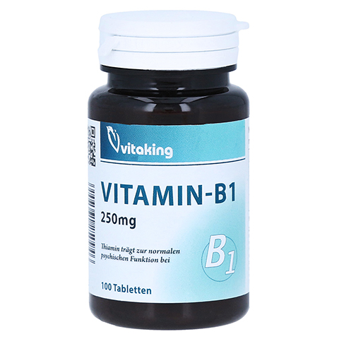 VITAMIN B1 250 mg Tabletten 100 Stück
