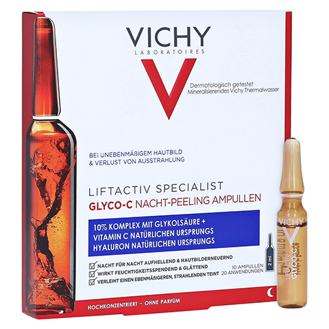 VICHY LIFTACTIV Specialist Glyco-C Peeling Amp. 10x2.0 Milliliter