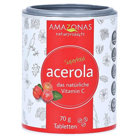 ACEROLA VITAMIN C ohne Zuckerzusatz Lutschtabl. 70 Gramm