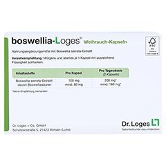 BOSWELLIA-LOGES Weihrauch-Kapseln 120 Stück - Rückseite