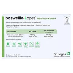 BOSWELLIA-LOGES Weihrauch-Kapseln 60 Stück - Rückseite