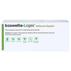 BOSWELLIA-LOGES Weihrauch-Kapseln 120 Stück - Unterseite