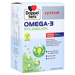 Doppelherz system Omega-3 Pflanzlich 120 Stück