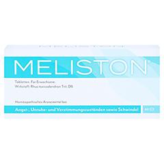 MELISTON Tabletten 40 Stück - Vorderseite