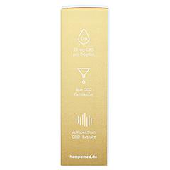 HEMPAMED Gold CBD Öl 20% 2000 mg Tropf.z.Einnehmen 10 Milliliter - Rechte Seite