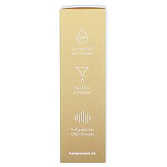 HEMPAMED Gold CBD Öl 10% 1000 mg Tropf.z.Einnehmen 10 Milliliter - Rechte Seite