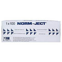 SPRITZE 10 ml 2teilig Luer exzentrisch 100 Stück - Oberseite