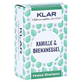 Klar Festes Shampoo Kamille/Brennnessel 100 Gramm