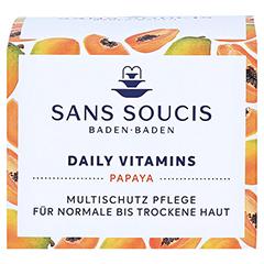 SANS SOUCIS DAILY VITAMINS Multischutz Pflege normale bis trockene Haut 50 Milliliter - Vorderseite