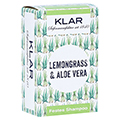 Klar Festes Shampoo Lemongrass/Aloe vera 100 Gramm